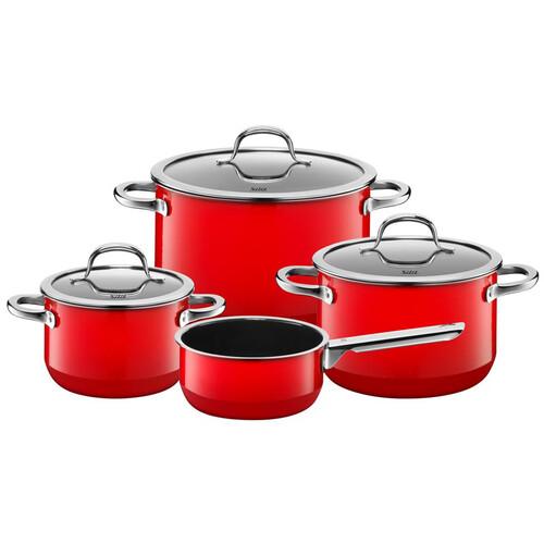 garnki silit passion red komplet 4 el z rondlem cena opinie sklep cook and love. Black Bedroom Furniture Sets. Home Design Ideas