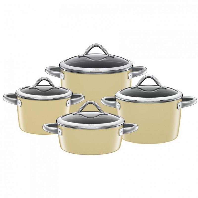 garnki silit vitaliano vanilla komplet 4 el sklep cook love. Black Bedroom Furniture Sets. Home Design Ideas